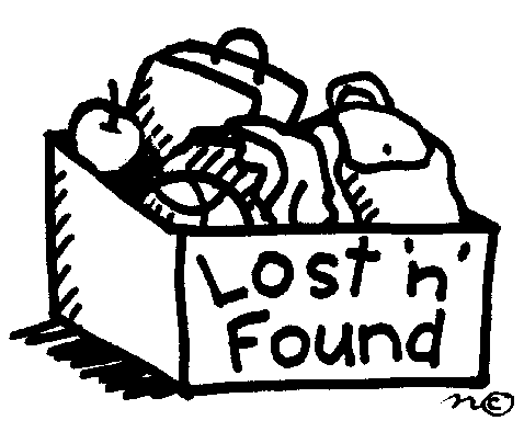 Lost Clipart Black And White.