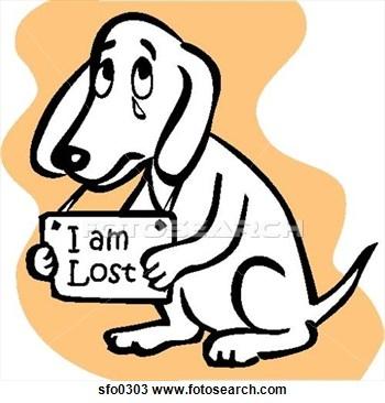 Found Dog Clipart.