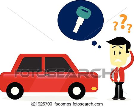 Car Keys Clipart.