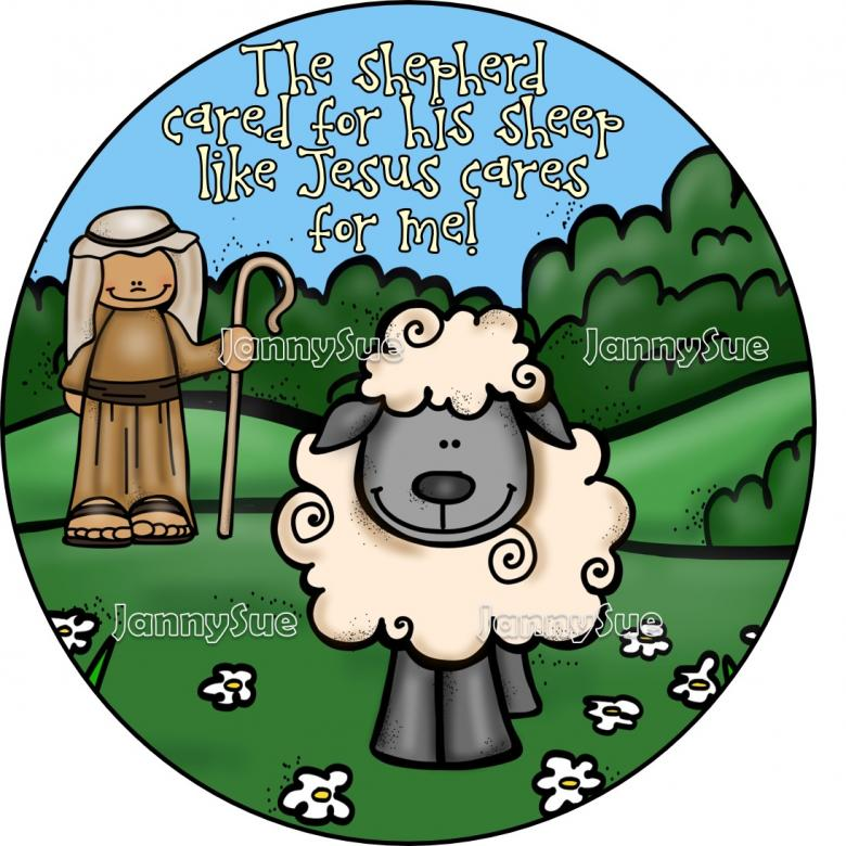 The lost sheep clipart 3 » Clipart Station.