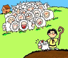 The lost sheep clipart 1 » Clipart Station.