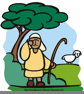 Parable Of The Lost Sheep Clipart.