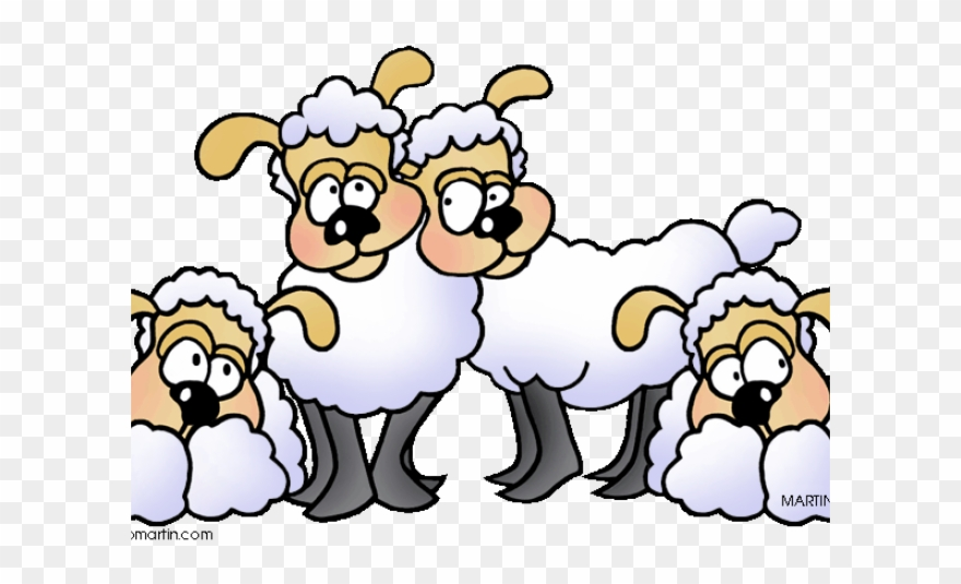 Herd Clipart Lost Sheep.