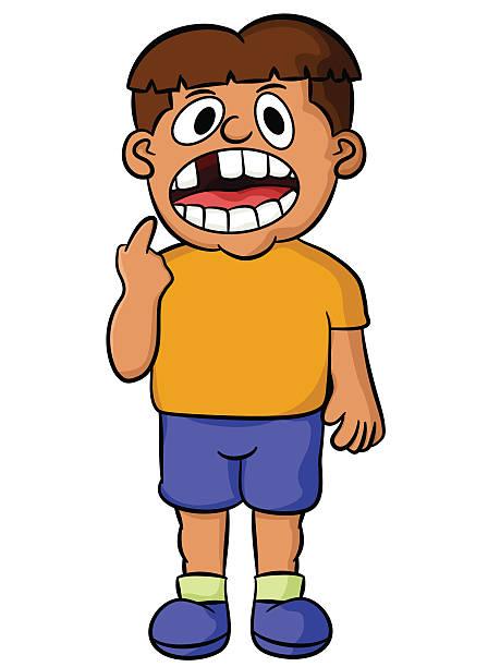 Best Child Missing Teeth Illustrations, Royalty.