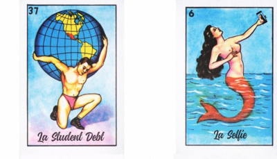 Millennial Lotería has us nostalgically searching for our.