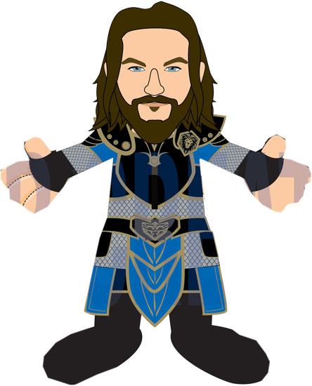 Bleacher Creature World of Warcraft Lothar the Human : Forbidden.
