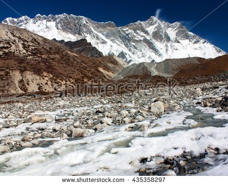 Lhotse Stock Photos, Royalty.