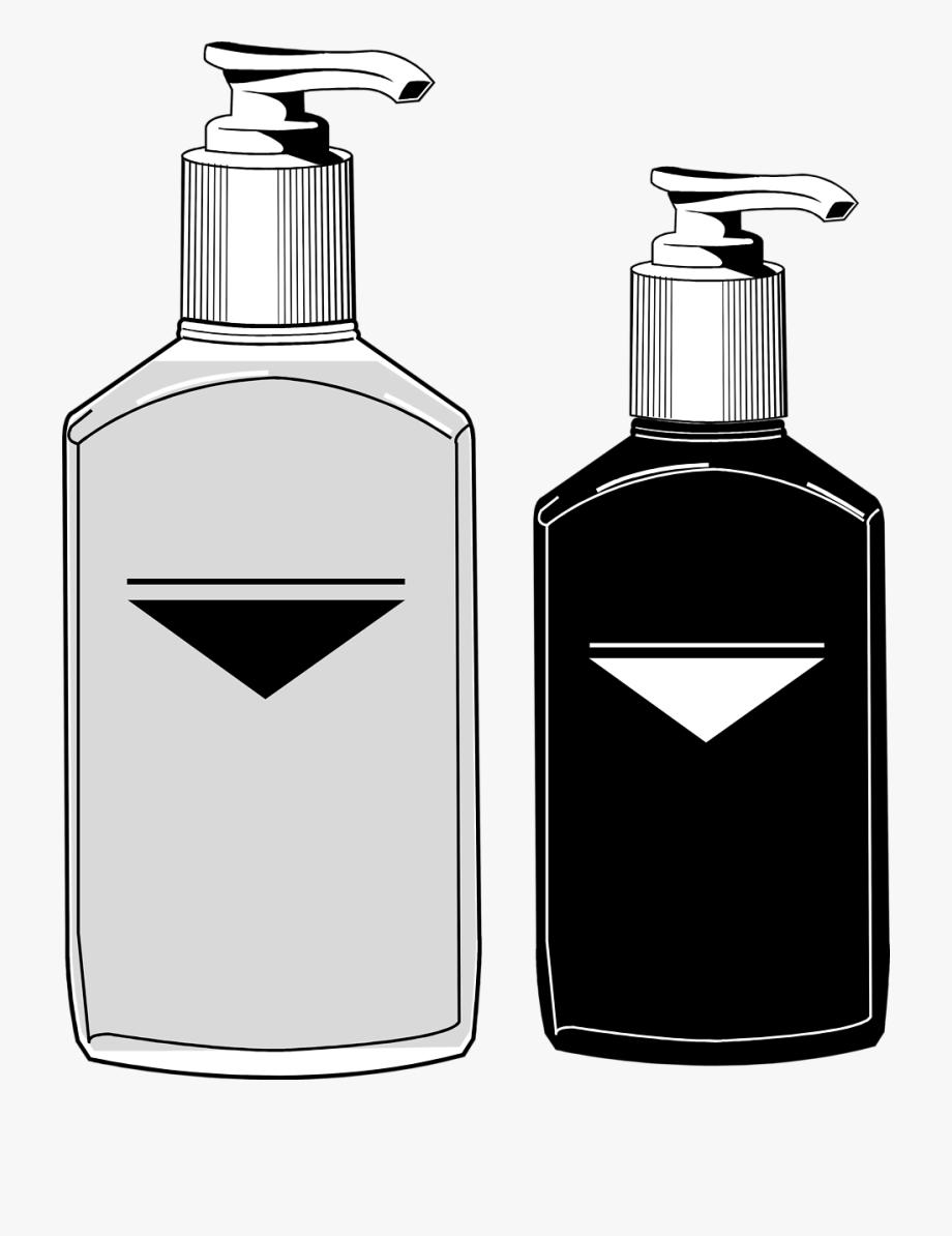 Soap Vector Pump Bottle.