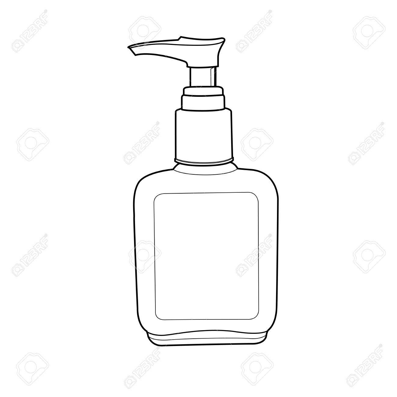 Lotion bottle clipart 5 » Clipart Portal.