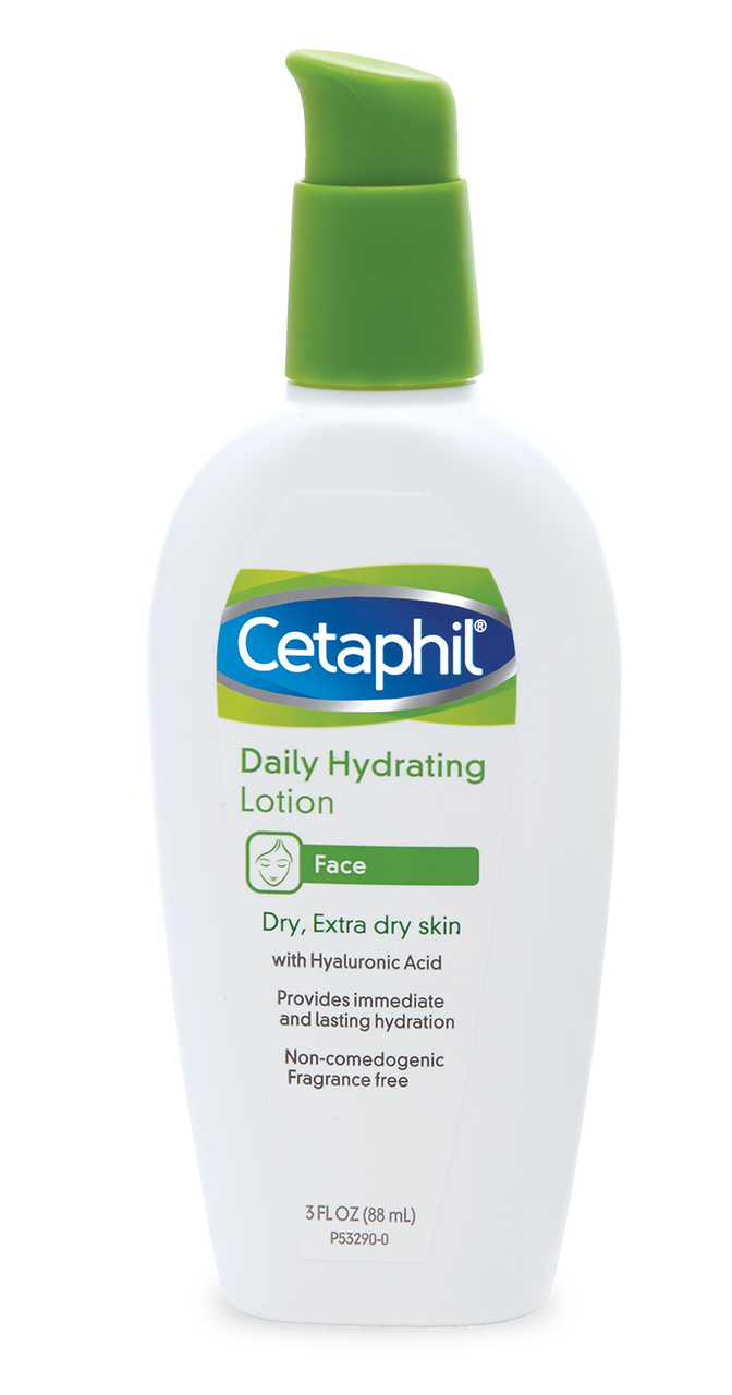 Daily Hydrating Lotion with Hyaluronic Acid.