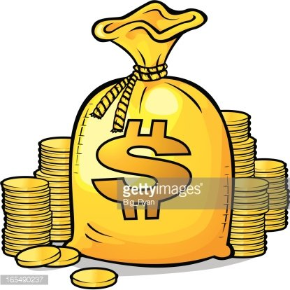Lots O Money premium clipart.