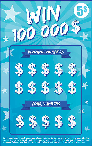 Best Lottery Ticket Illustrations, Royalty.