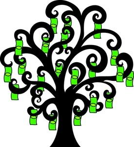 Lottery Tree Cliparts.