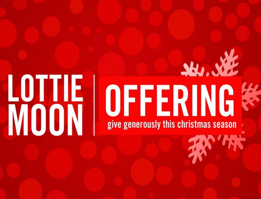 Lottie Moon resources available; Week of Prayer begins Dec. 3.