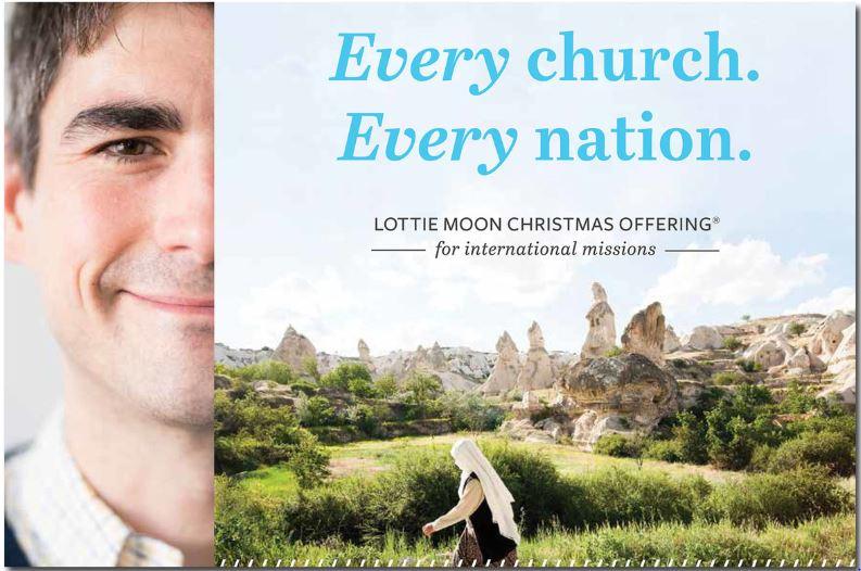 Lottie Moon Christmas Offering 2018.