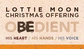 Lottie Moon Christmas Offering.