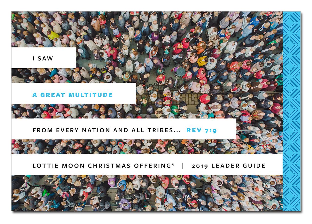 2019 Lottie Moon Christmas Offering Kit (DVD NOT INCLUDED.