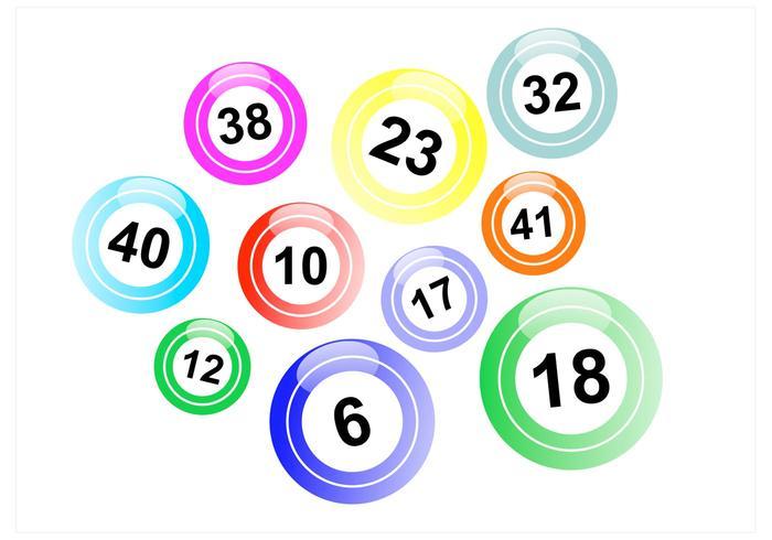 Lotto Balls Vector Pack.