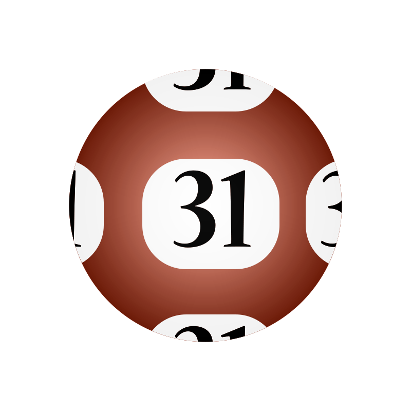 Free Clipart: #31 Lotto Ball.
