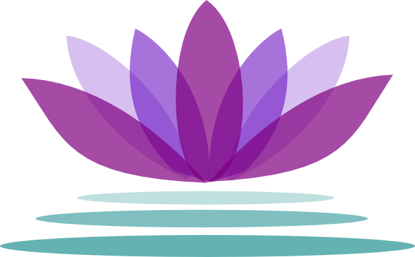 free clip art lotus flower #6