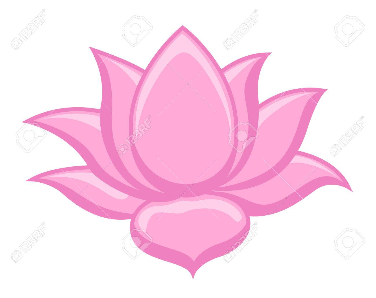 Lotus flower images clipart 4 » Clipart Station.