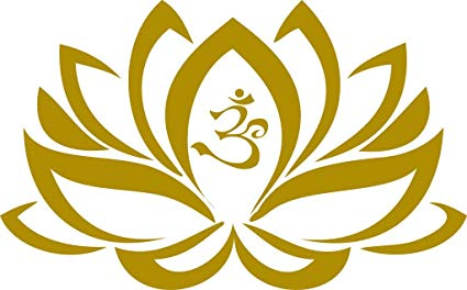 Chic Walls Removable Lotus Flower Namaste Sign Wall Window Art Decor Decal  Vinyl Sticker Mural Yoga Meditation 50