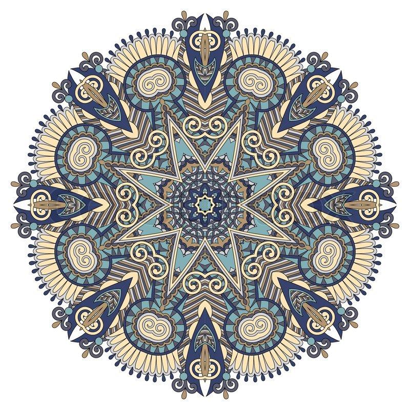 Lotus Flower Mandala.