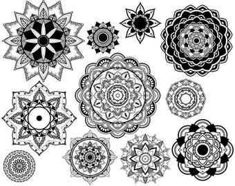 Mandala tattoo.