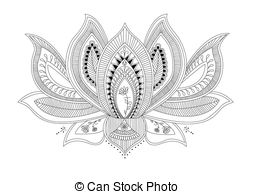 Lotus flower tattoo Clip Art and Stock Illustrations. 1,881 Lotus.