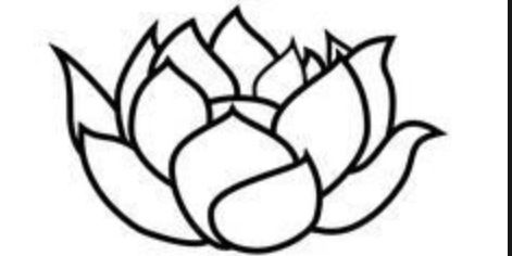 Free Lotus Flower Outline, Download Free Clip Art, Free Clip.