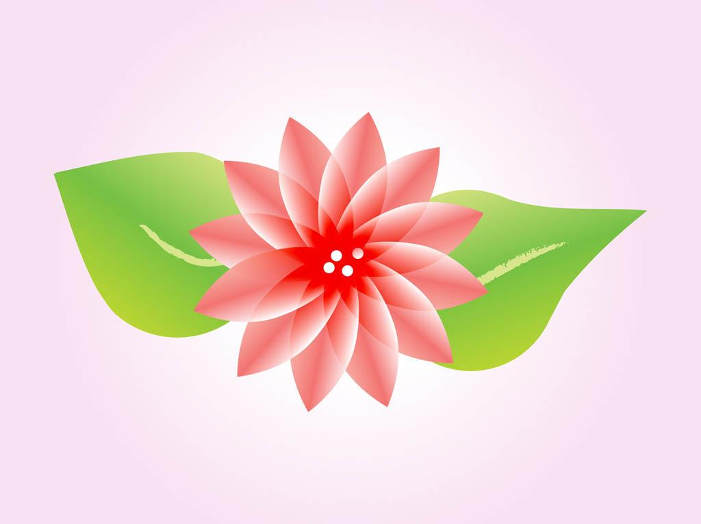 Lotus Flower Vector Vector Art & Graphics.