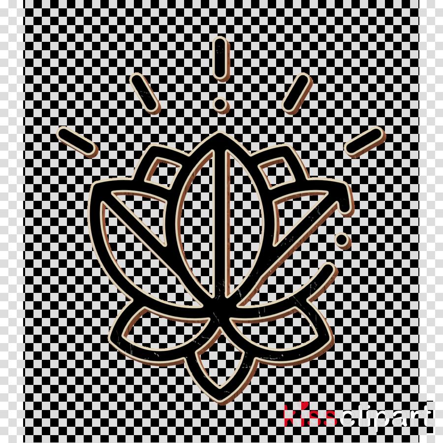 Esoteric icon Flower icon Lotus icon clipart.