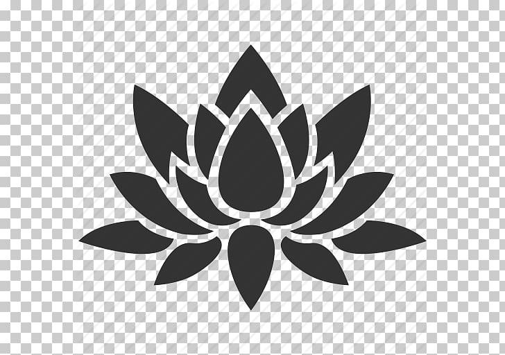 Nelumbo nucifera Flower Decal, Flower, Lotus, Nature, Plant.