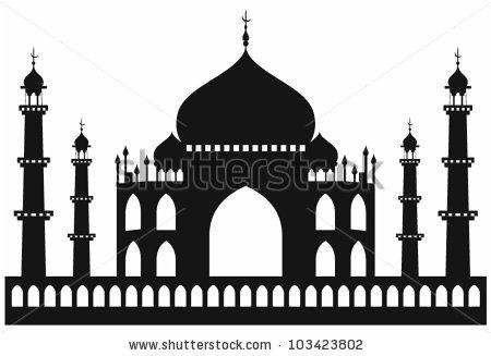 Taj Mahal India Stock Photos, Royalty.
