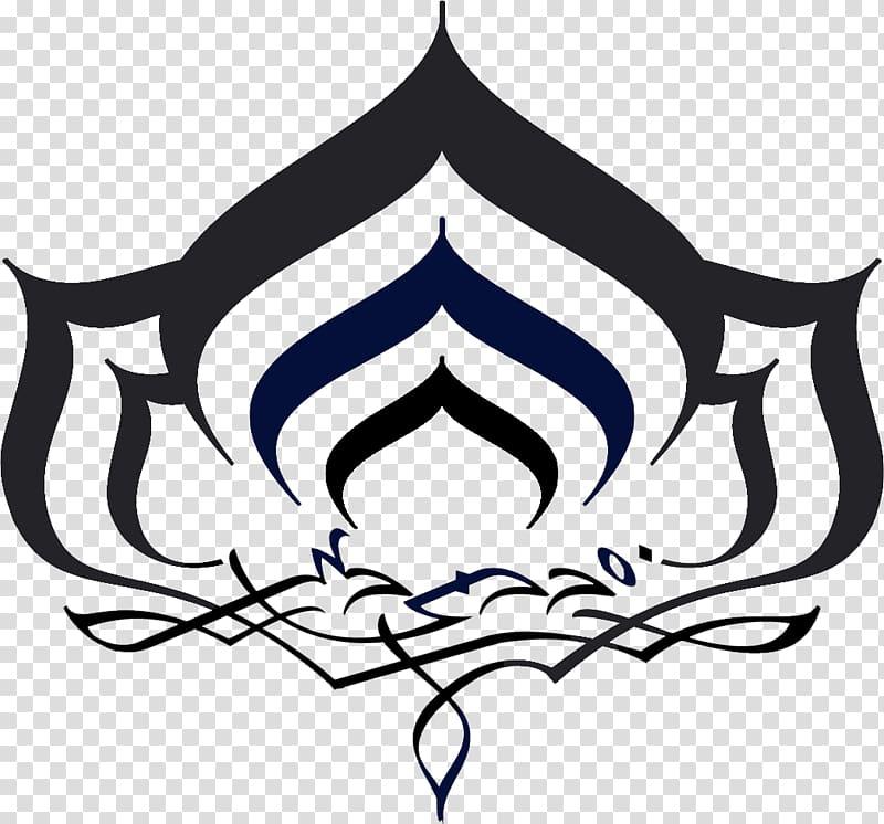 Warframe Logo Digital Extremes Symbol, Lotus Root.