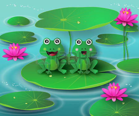 1,360 Lotus Pond Stock Illustrations, Cliparts And Royalty Free.