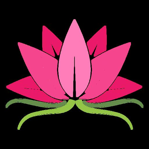 Lotus plant icon.