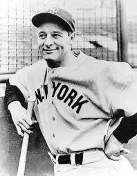 Lou Gehrig Clip Art.