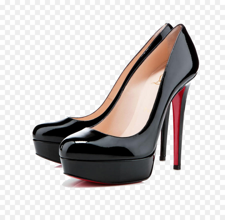 christian louboutin bianca clipart Court shoe Patent leather.
