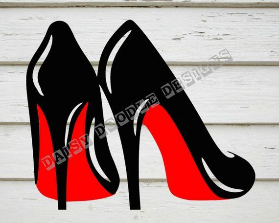 High heels svg stillettos svg louboutins svg digital.