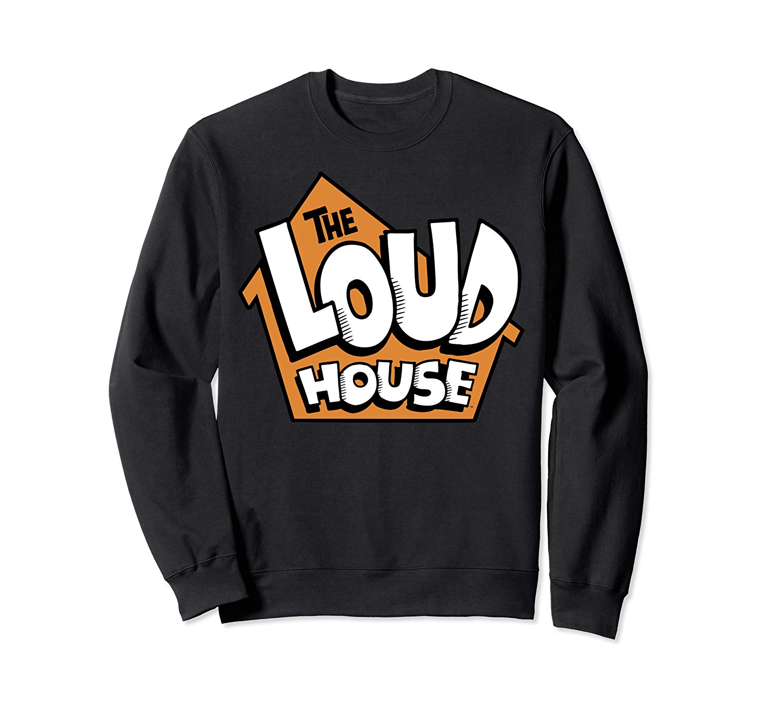 Amazon.com: The Loud House Orange House Logo Sweatshirt.