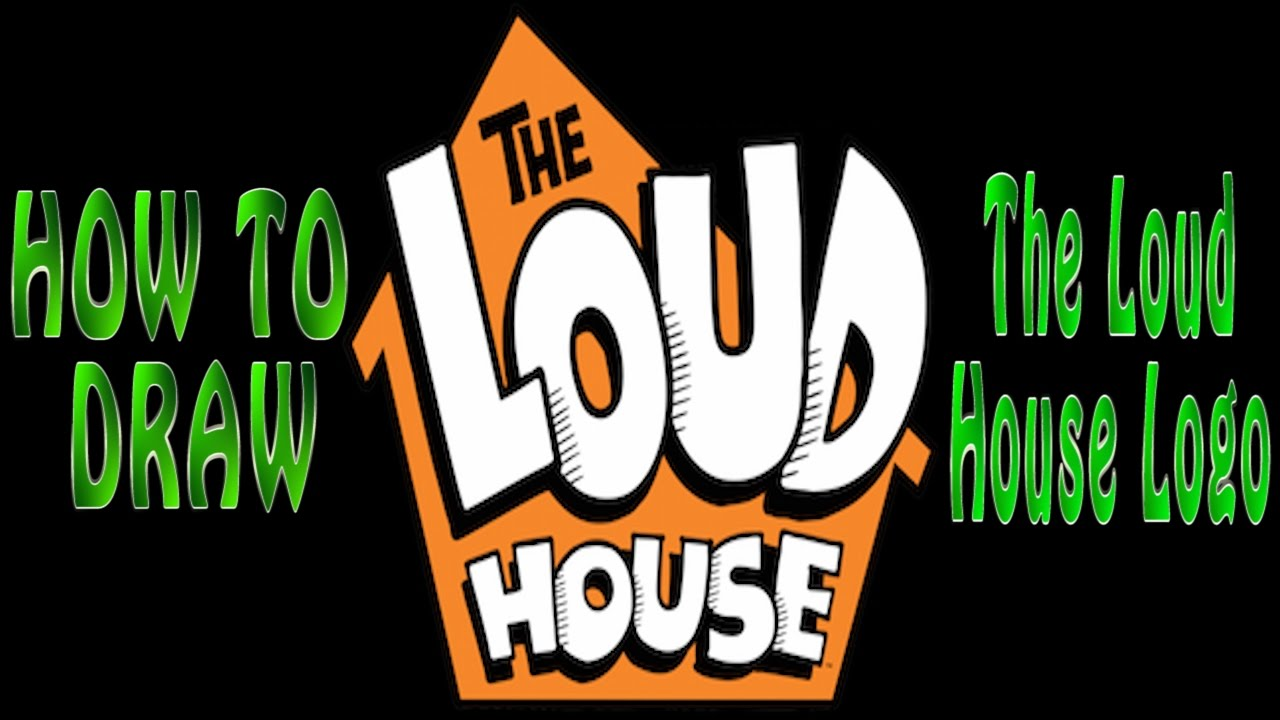 How to Draw The Loud House Logo (Easy).