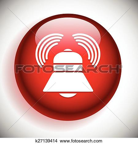 Clipart of Speaker icon for volume, loudness or alarm concepts.