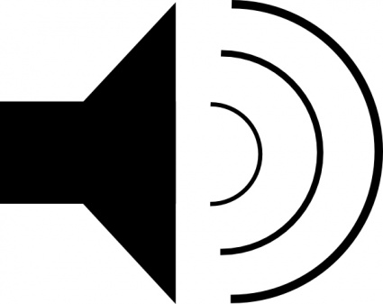 Speaker Icon clip art Clipart Graphic.