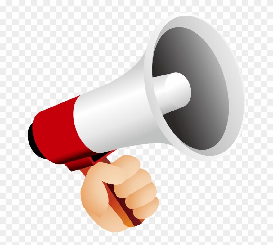 Loudspeaker Icon Red Speaker.