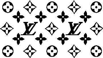 Louis Vuitton Logo Stencil.