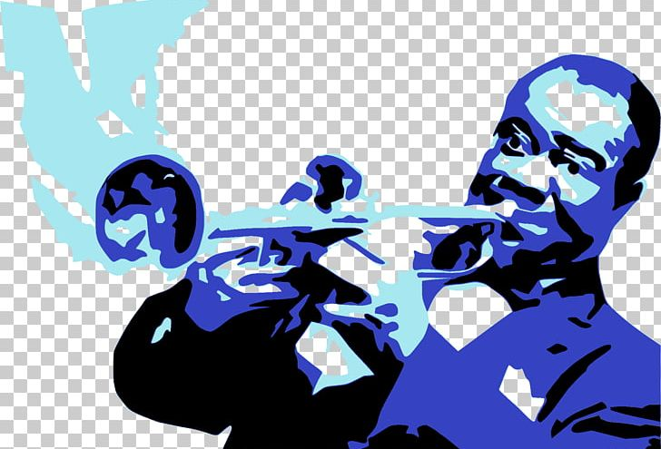 Louis Armstrong House Jazz Musician Trumpet PNG, Clipart.