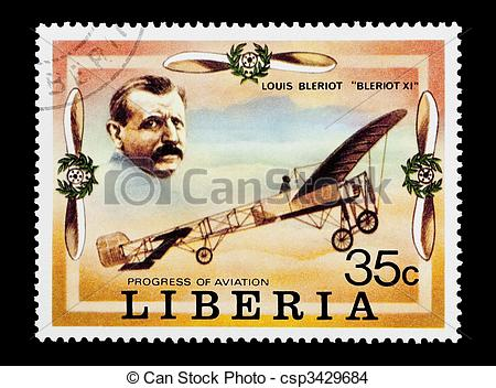 Stock Photo of louis bleriot.