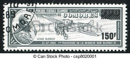 Stock Photography of Louis Bleriot.