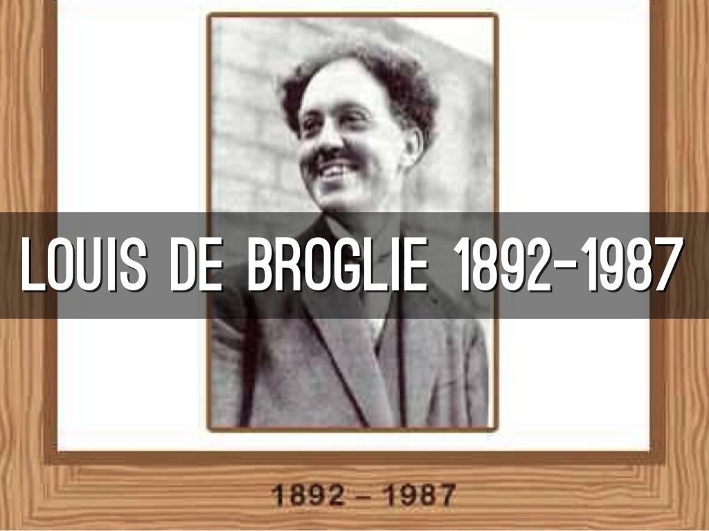 Louis de Broglie by David Ayala.